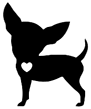 Izzy's Place Senior Dog Rescue Logo